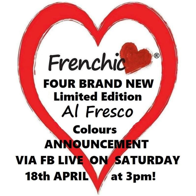 The Frenchic revolution continues!