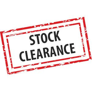 Huge stock clearance underway! £1 sale