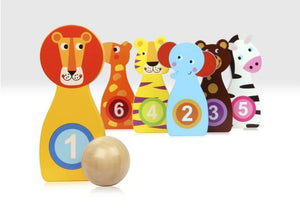 Animal Bowling Game