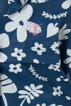 Load image into Gallery viewer, Amy Girls Coat Blue Floral