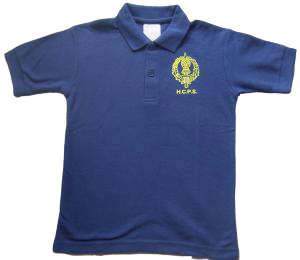 HCPS Polo Shirt Badged