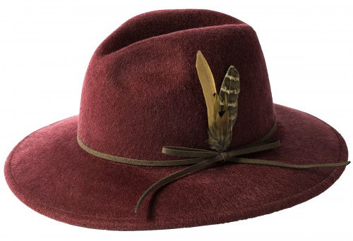 Brushed Wool Felt Trilby