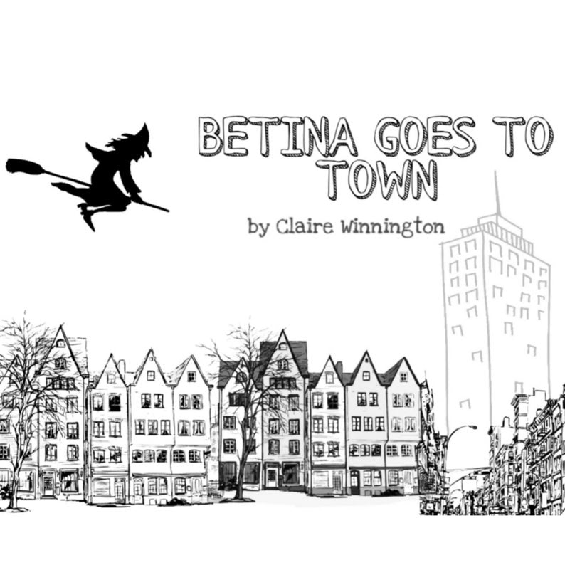 Betina goes to town