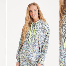 Load image into Gallery viewer, Poppy Pretty Kat Print Hoody
