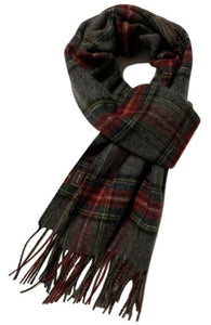 Traditional Tartan Unisex Wool scarf