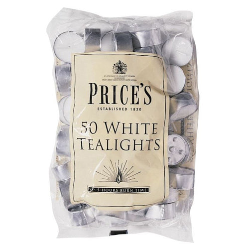 White Tealights - pack of 50