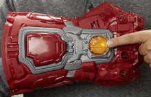 Load image into Gallery viewer, Avengers Red Electronic Gauntlet
