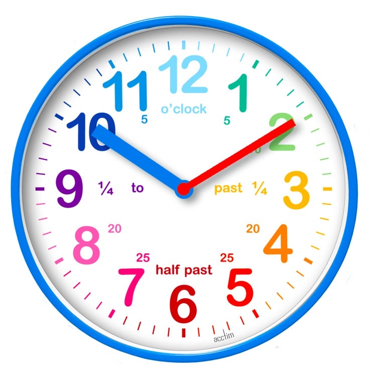 Kids Teach Time Clock