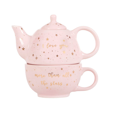 Scattered stars love you more tea for one