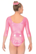 Load image into Gallery viewer, 3/4 Sleeve Ice Leotard in Candy age 11-13