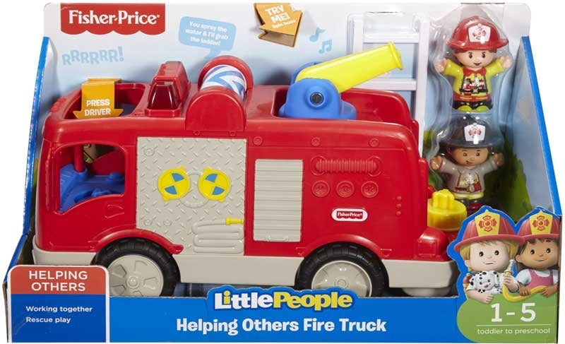 Fisher Price Little People Firetruck