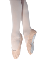 Load image into Gallery viewer, Pink Ballet Shoe Leather