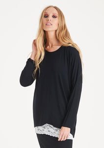 Kammy Plain Long Sleeved Top