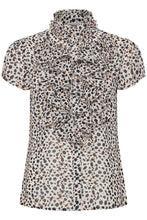 Load image into Gallery viewer, Lily Cheetah Print Blouse