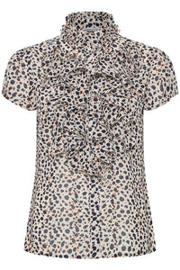 Lily Cheetah Print Blouse