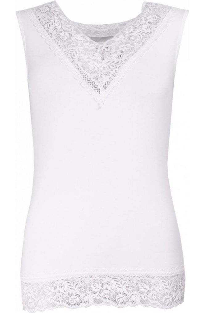 New Angel Lace V Neck Trim
