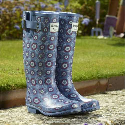 Size 8 Briers Historic Royal Palaces Tudor Rose Wellingtons