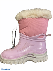 Pink Snow Boot infant size 5.5