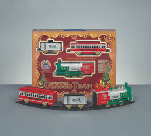 Premier Battery Operated Christmas Train set with sound!