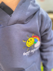 Happy Days Hoodie Navy
