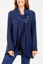 Load image into Gallery viewer, Lucy Asymmetric Zip Jacket
