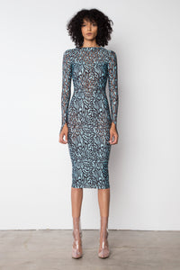 YS400 LONG SLEEVE DRESS