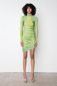 YS402 TURTLENECK DRESS