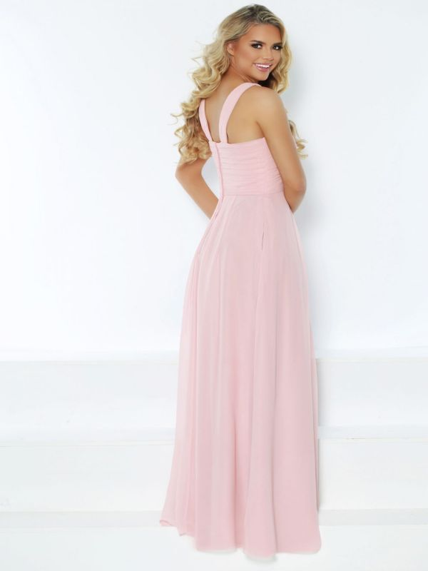 Kanali K Size 12 1789 Blush Bridesmaid Dress