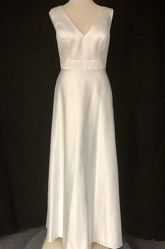 Kanali K Size 6 1761 Ivory Bridesmaid Dress