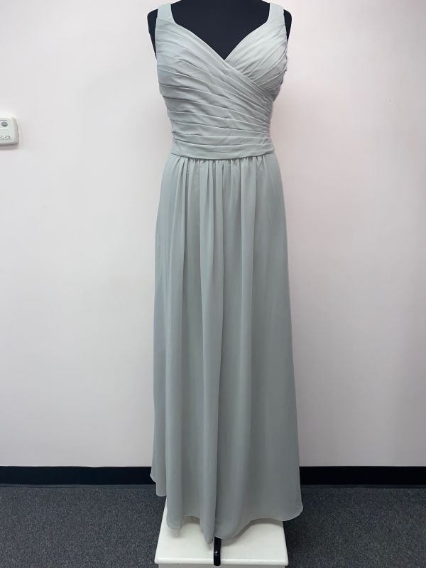 Kanali K Size 22 1806 Dove Gray Bridesmaid Dress