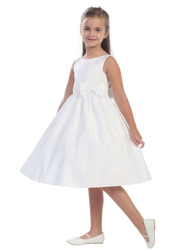 Tip Top Kids Size 10 5489 Ivory Flower Girl Dress