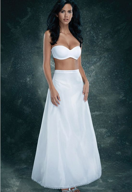 Size One Size Bridal Outlet 1368D White Slip