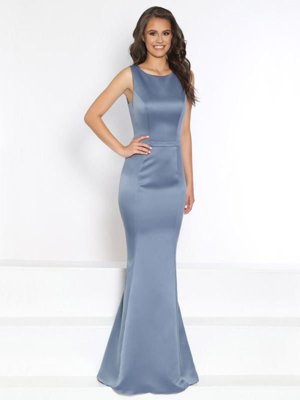 Kanali K Size 8 1794 Slate Bridesmaid Dress