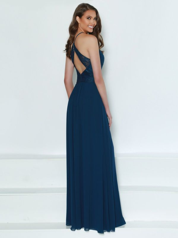 Kanali K Size 10 1777 Navy/Navy Bridesmaid Dress