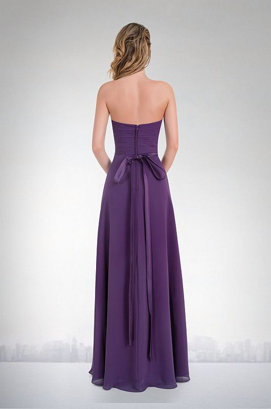 Kanali K Size 10 1616 Plum Bridesmaid Dress