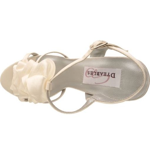 Dyeables 7.5 Ivy Ivory Shoes