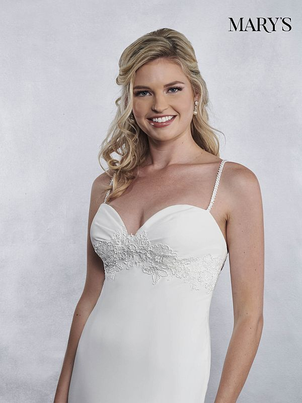 Mary's Bridal Size 18 MB1033 Ivory Informal