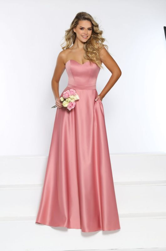 Kanali K Size 16 1816 Dusty Rose Bridesmaid Dress