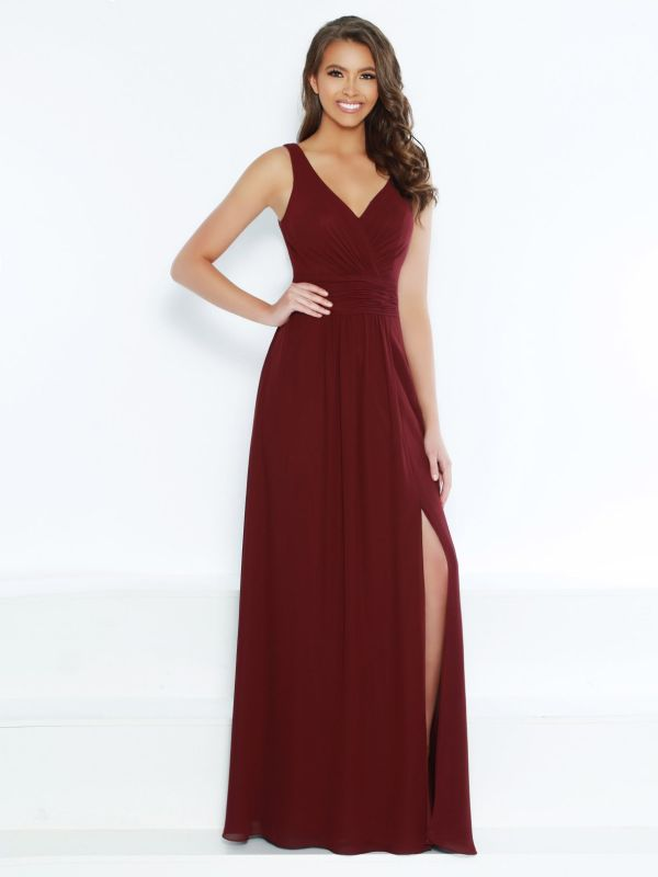 Kanali K Size 16 1788 Wine Bridesmaid Dress