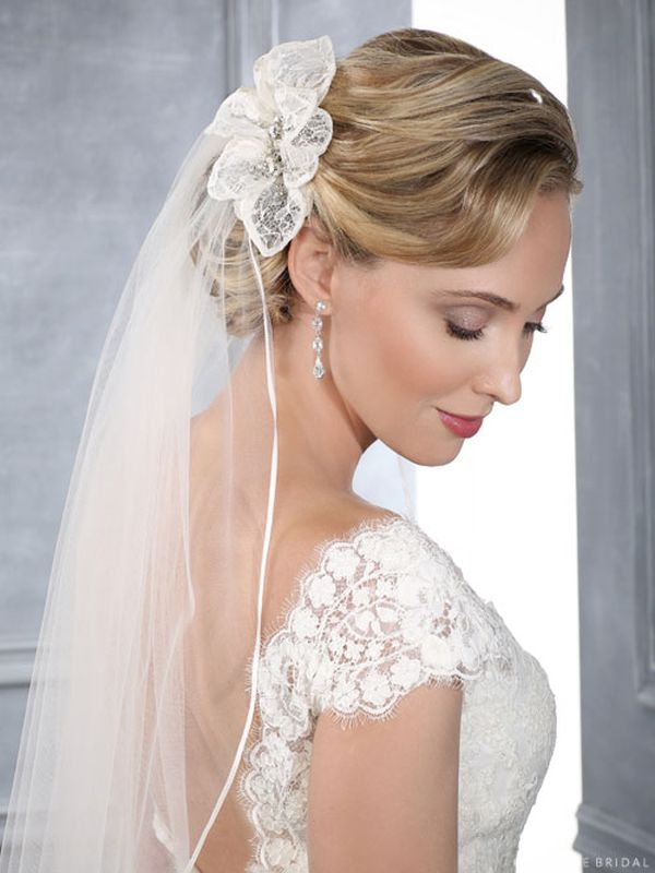 Bel Aire 6415 Ivory Hair Accessory