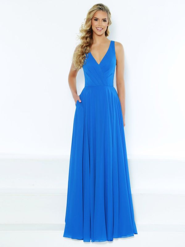 Kanali K Size 10 1782 Royal Bridesmaid Dress