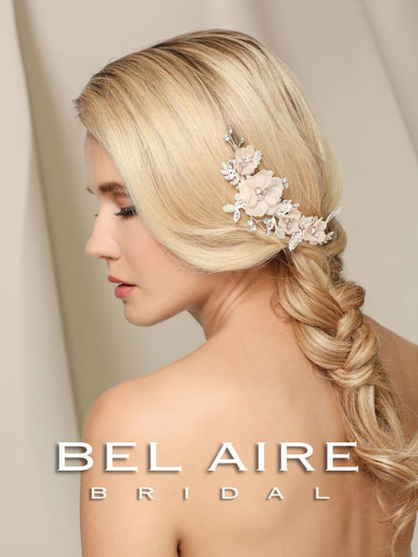 Bel Aire 6525 Blush Hair Accessory