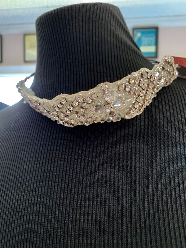 Bel Aire 6416 Silver Hair Accessory