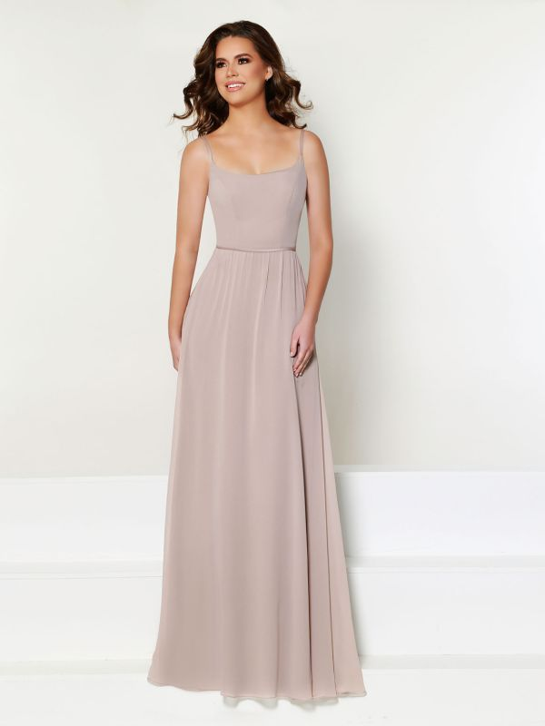 Size 16 Kanali K 1828 Oyster Bridesmaid Dress