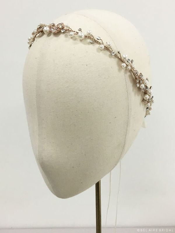 Bel Aire 6534 Rose Gold Hair Accessory