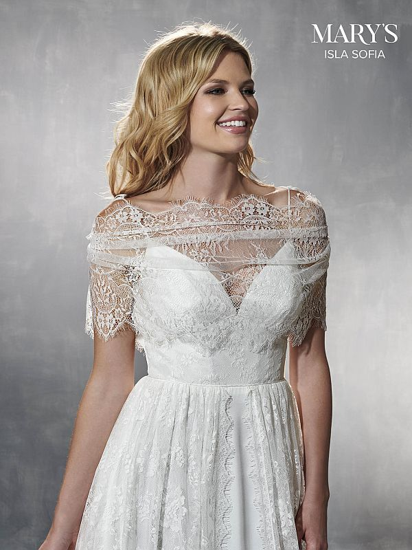 Mary's Bridal Size 18 MB5005 Ivory Informal