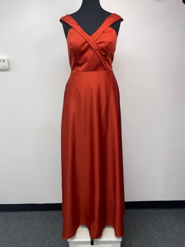 Kanali K Size 16 1829 Rust Bridesmaid Dress