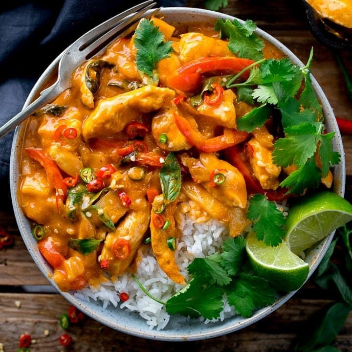 Thai Red Curry Dinner- Friday 1/8