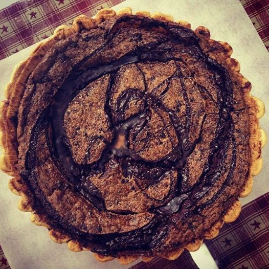 Double Chocolate Espresso Pie