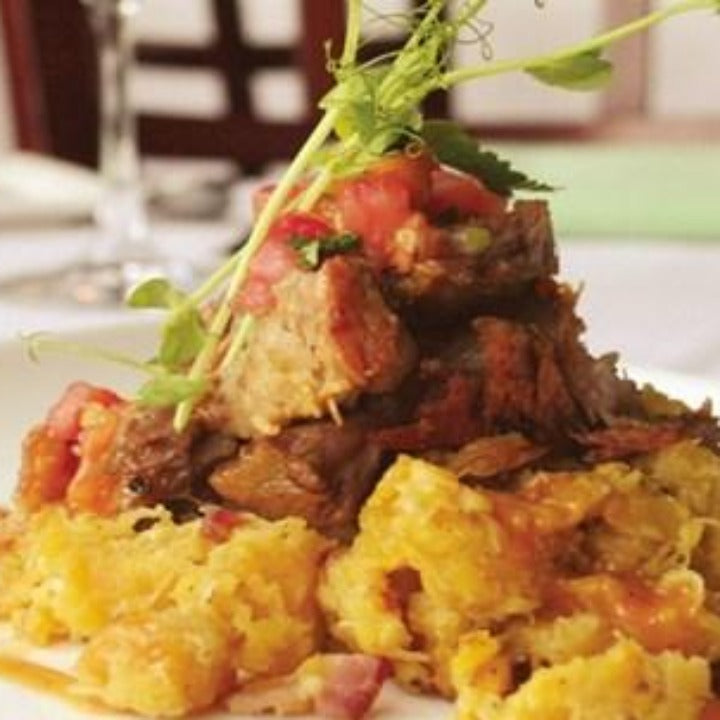 Puerto Rican Braised Pork Mofongo Dinner - Friday 3/26